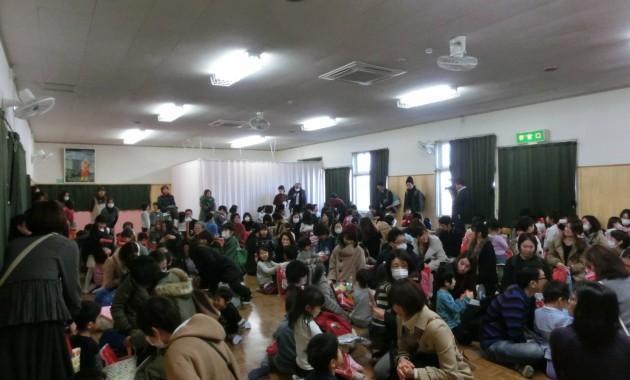 第2園幼児部クリスマス会のようす