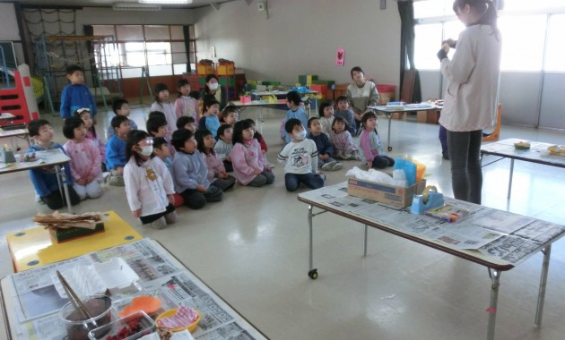 第1幼稚園のおみせやさんごっこみんな工場