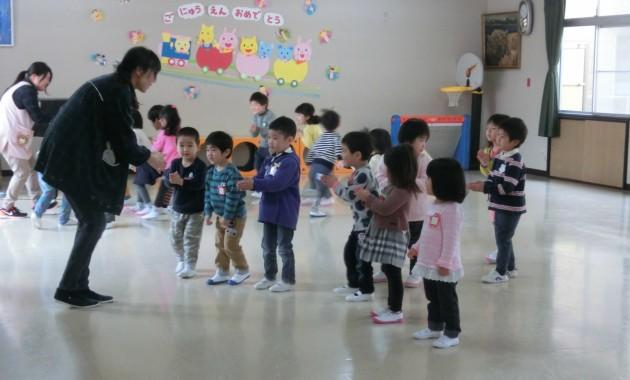 第1幼稚園新年度のようすです