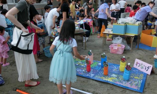 第2幼稚園 夏祭りのようす