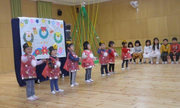 第1幼稚園のクリスマス会