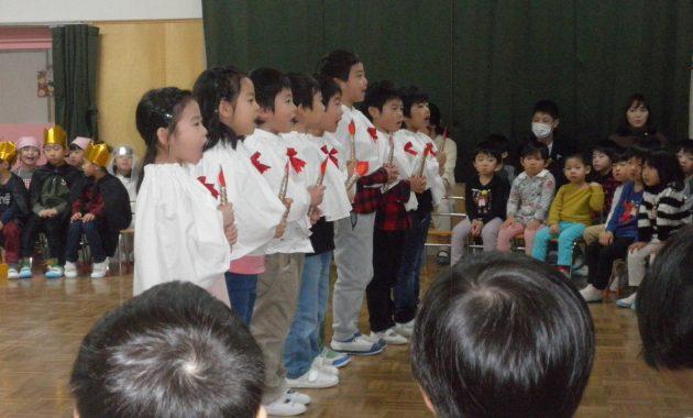 第2幼稚園幼児部のクリスマス会