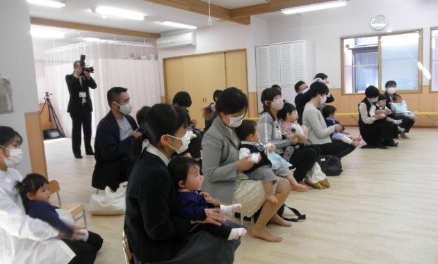 第2園乳児部 入園式